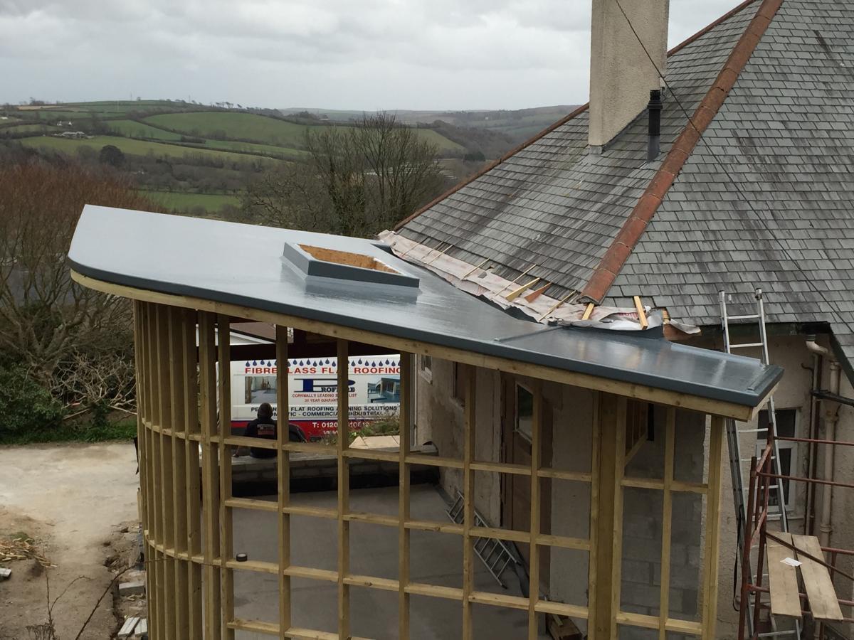 Fibreglass Roof Repairs Cornwall - GRP Roof Repairs - Pro Fibre