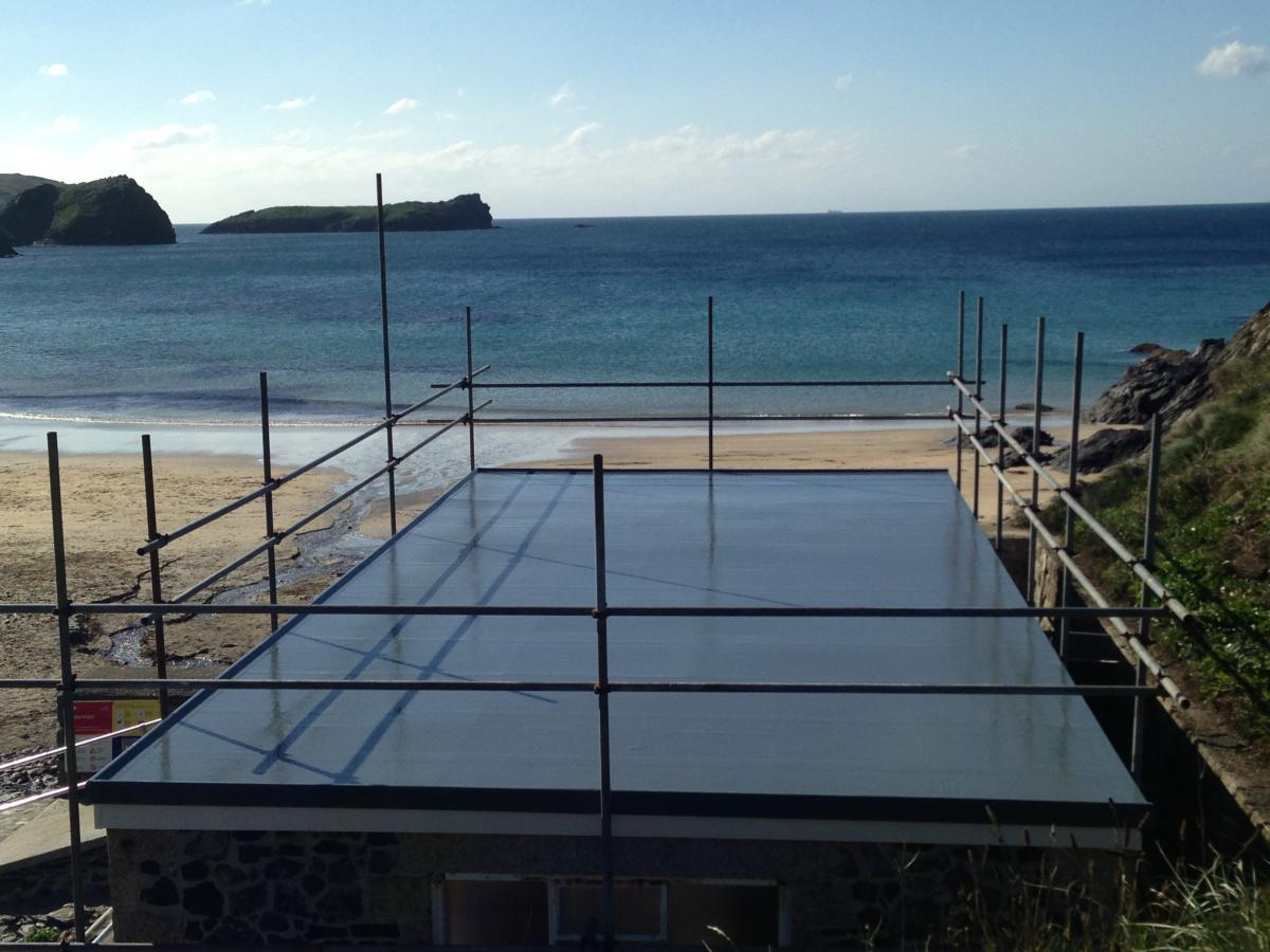 Fibreglass Roof Repairs Cornwall - GRP Roof Repairs - Pro Fibre