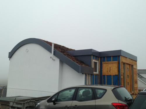 Fibreglass Pitched Roof - Pro Fibre In Cornwall